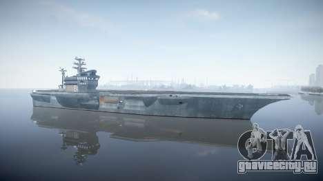 USS Flysenhower для GTA 4 второй скриншот