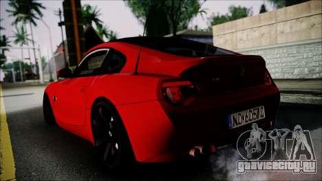 BMW Z4 M85 для GTA San Andreas вид слева
