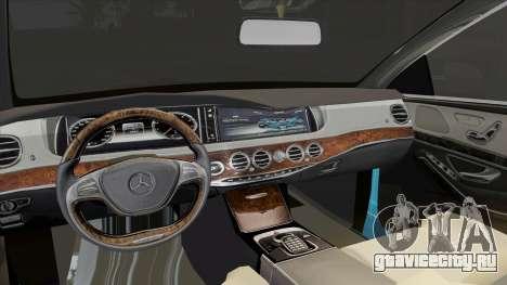 Mercedes-Benz S350 2015 Bluetec для GTA San Andreas вид справа