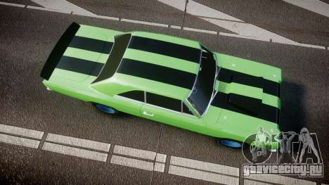 Dodge Dart HEMI Super Stock 1968 rims3 для GTA 4 вид справа