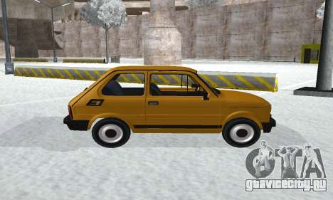 Fiat 126p FL для GTA San Andreas вид сзади слева