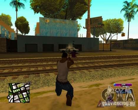 Space C-HUD v2.0 для GTA San Andreas
