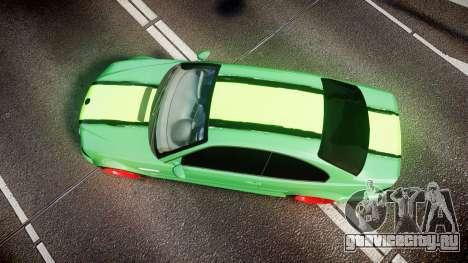 BMW M3 E46 Green Editon для GTA 4 вид справа
