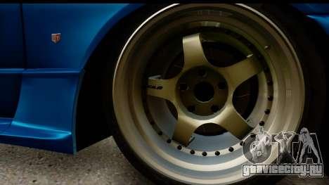 Nissan Skyline R32 Targa для GTA San Andreas вид справа