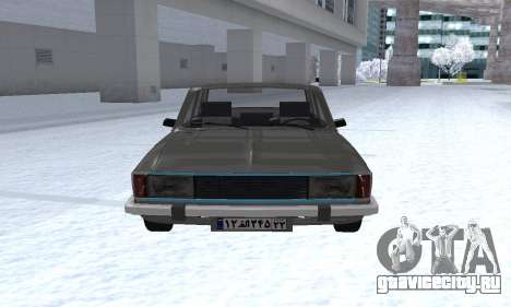 Ikco Peykan Chragh Benzi New для GTA San Andreas вид сзади слева