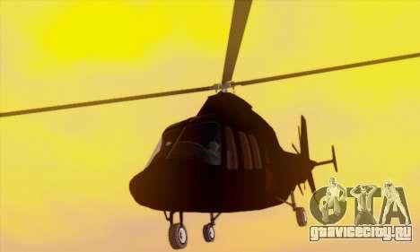 Swift GTA 5 для GTA San Andreas вид сверху