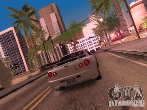 Los Santos MG19 ENB для GTA San Andreas третий скриншот
