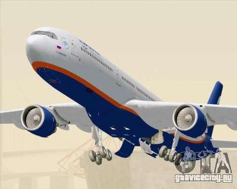 Airbus A330-300 Aeroflot - Russian Airlines для GTA San Andreas вид сзади слева