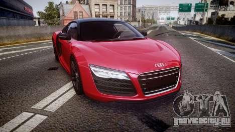 Audi R8 E-Tron 2014 dual tone для GTA 4