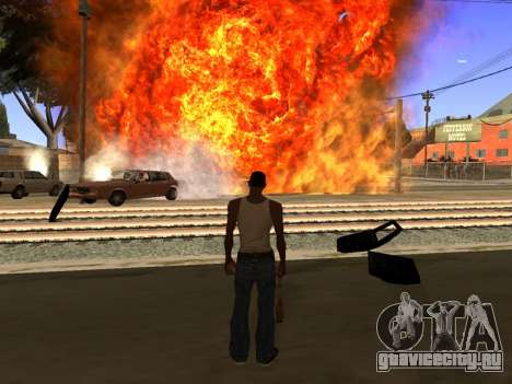 New Realistic Effects 4.0 Full Final Version для GTA San Andreas третий скриншот
