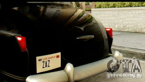 Lassiter Series 75 Hollywood для GTA San Andreas
