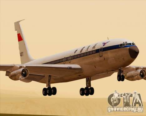 Boeing 707-300 CAAC для GTA San Andreas