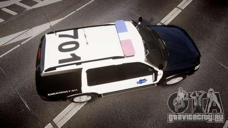 Ford Explorer 2008 LCPD [ELS] для GTA 4 вид справа