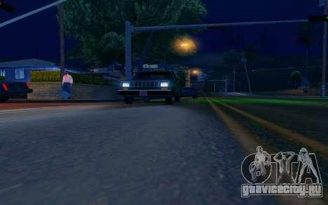 ENB by Dvi v 1.0 для GTA San Andreas третий скриншот