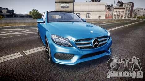 Mercedes-Benz C250 AMG (W205) 2015 для GTA 4