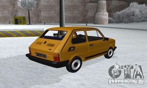 Fiat 126p FL для GTA San Andreas вид слева