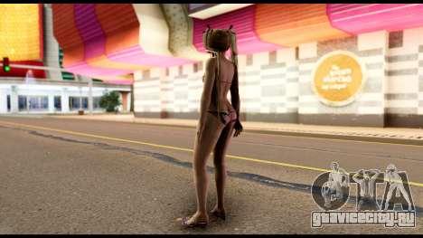 Dead Or Alive 5U - Marie Rose Bikini для GTA San Andreas