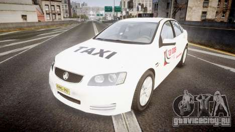 Holden Commodore Omega Queensland Taxi v3.0 для GTA 4