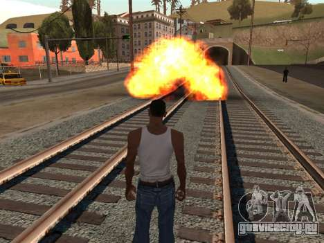 Effects by Lopes 2.2 New для GTA San Andreas