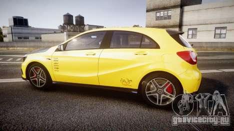 Mersedes-Benz A45 AMG PJs2 для GTA 4 вид слева