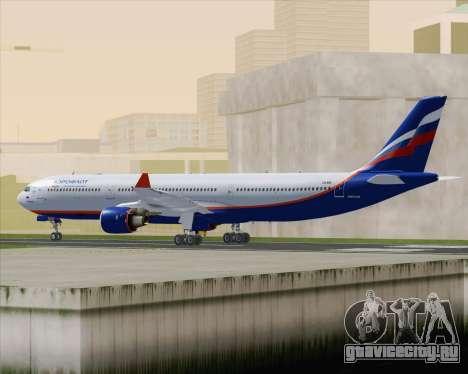 Airbus A330-300 Aeroflot - Russian Airlines для GTA San Andreas вид справа