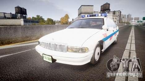 Chevrolet Caprice Liberty Police [ELS] для GTA 4