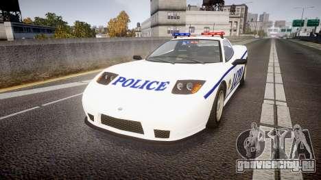 Invetero Coquette Police Interceptor [ELS] для GTA 4