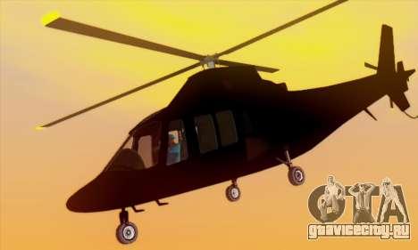 Swift GTA 5 для GTA San Andreas вид сбоку
