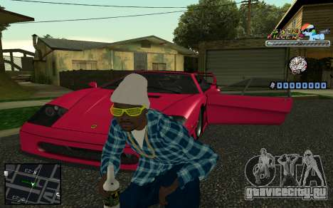 C-HUD SWAG Killerz для GTA San Andreas
