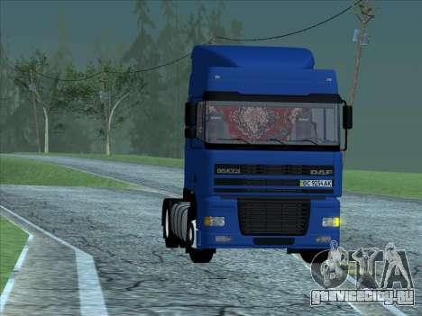 DAF XF для GTA San Andreas вид слева