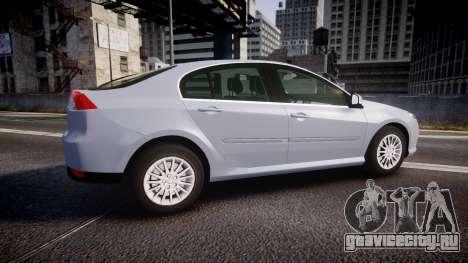 Renault Laguna III 2007 для GTA 4 вид слева
