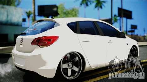 Opel Astra для GTA San Andreas
