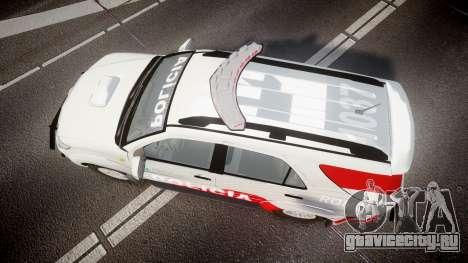 Toyota Hilux SW4 2014 Ronda PMCE [ELS] для GTA 4 вид справа