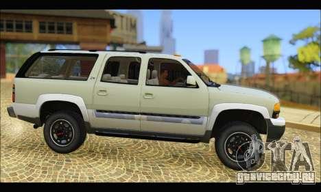 GMC Yukon XL 2003 v.2 для GTA San Andreas вид слева