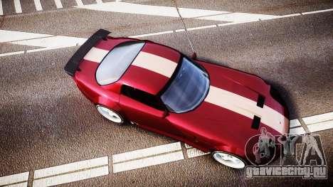 Bravado Banshee GTA V Style для GTA 4 вид справа