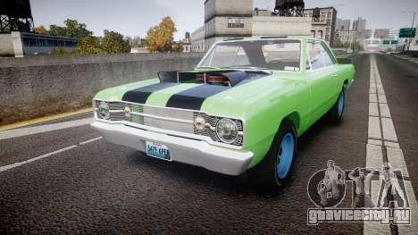 Dodge Dart HEMI Super Stock 1968 rims3 для GTA 4