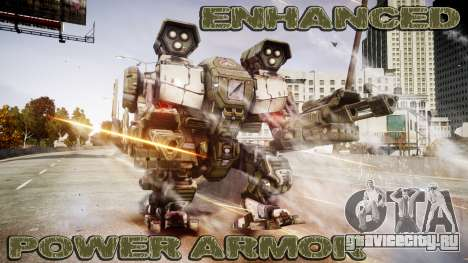 Enhanced Power Armor для GTA 4