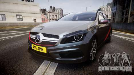 Mersedes-Benz A45 AMG PJs2 для GTA 4