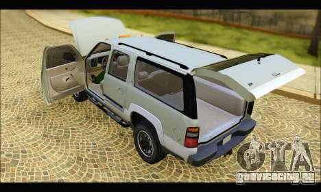 GMC Yukon XL 2003 v.2 для GTA San Andreas вид справа