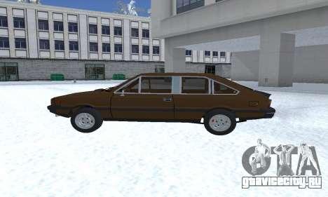 FSO Polonez 2.0X Coupe для GTA San Andreas вид слева