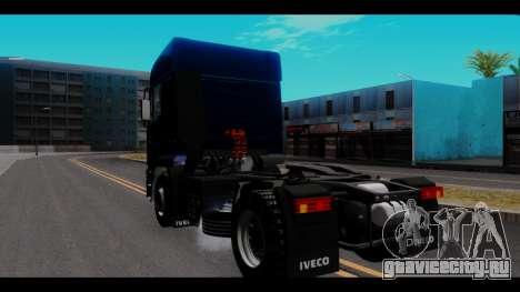 Iveco Eurotech для GTA San Andreas вид сзади слева