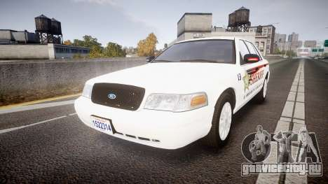 Ford Crown Victoria Sheriff [ELS] rims2 для GTA 4