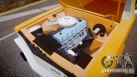 Ford Fairmont 1978 Taxi v1.1 для GTA 4 вид изнутри