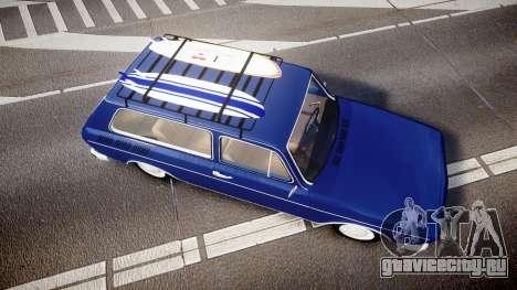Volkswagen 1600 Variant 1973 для GTA 4 вид справа