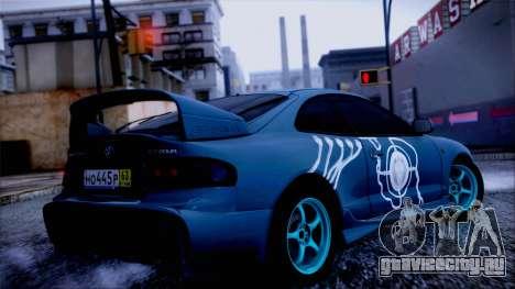Toyota Сelica для GTA San Andreas вид слева