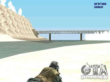 Спецназ РФ (CoD Black Ops) для GTA San Andreas четвёртый скриншот