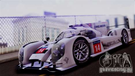 Porsche 919 Hybrid 2014 для GTA San Andreas вид слева