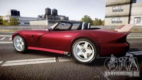 Bravado Banshee GTA V Style для GTA 4 вид слева