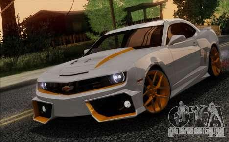 Chevrolet Camaro VR (IVF) для GTA San Andreas вид сбоку
