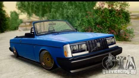 Volvo 242 Cabrio для GTA San Andreas